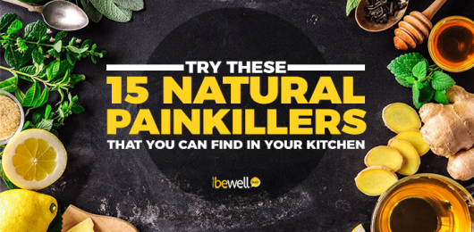 15 Natural Painkillers You Can Easily Find in Your Kitchen