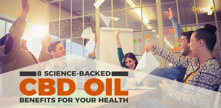 8 Science-Backed CBD Oil Benefits for Your Health