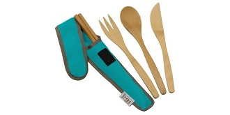 Lightweight bamboo utensils