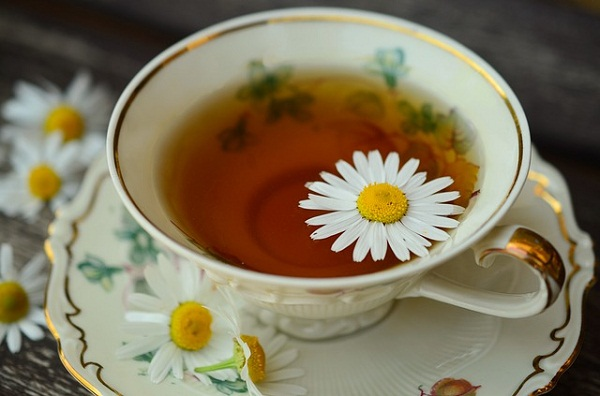 Chamomile tea is an effective way to lower anxiety levels.