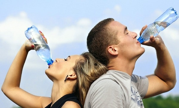 fitness goals - drinking water