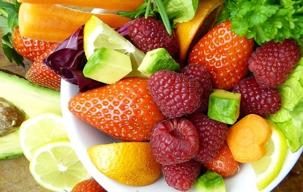 fitness goals - vitamins and minerals fruits
