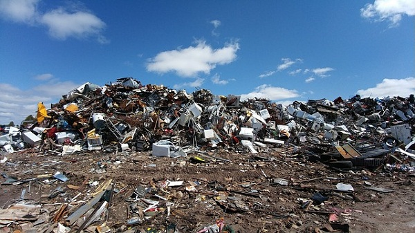 Landfill sites are toxic. They create pollution and contaminate the soil.