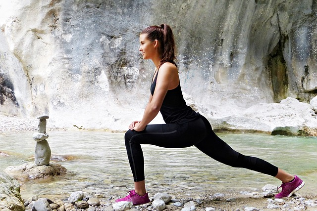 Another important aspect of exercise is building muscles that help you support your knees.