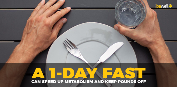 A 1-Day Fast Can Speed Up Metabolism and Keep Pounds Off