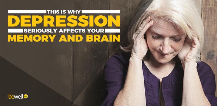 This Is How Depression Affects Your Brain and Memory