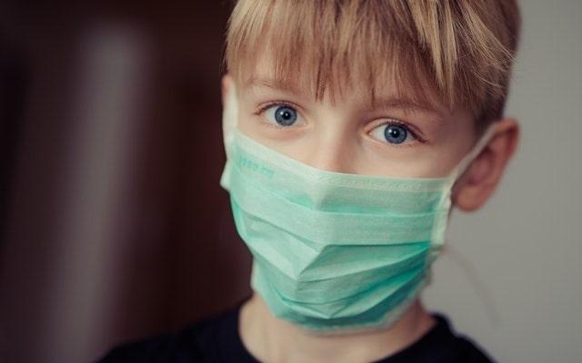 EMF - allergies boy with mask
