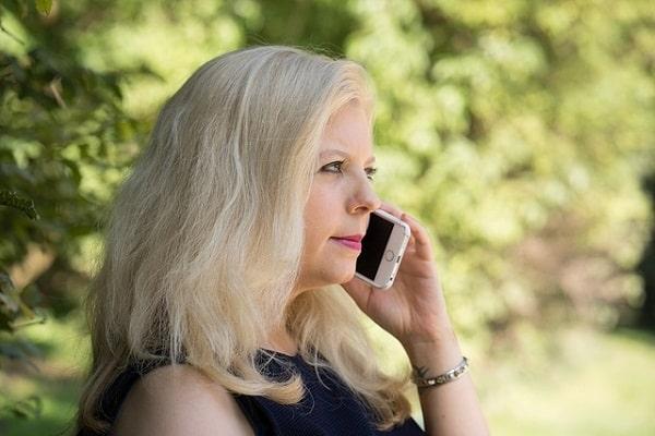 EMF - mom on phone