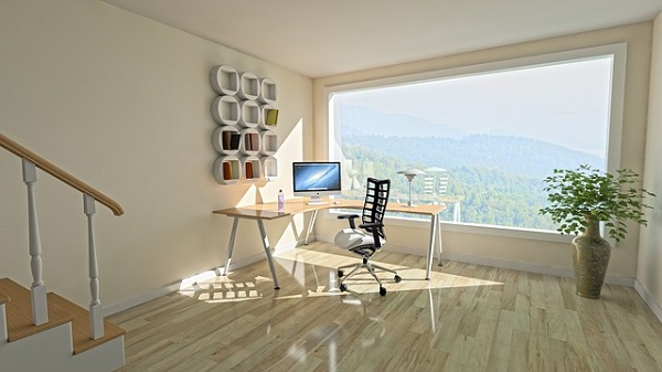 Make sure your home office has plenty of natural light