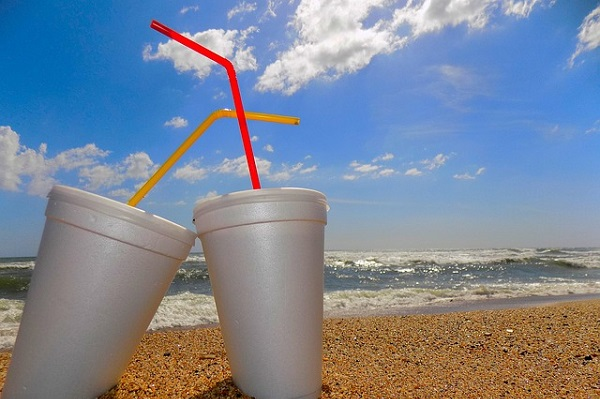 Experts say straws are found polluting the environment so commonly because they're small and light.