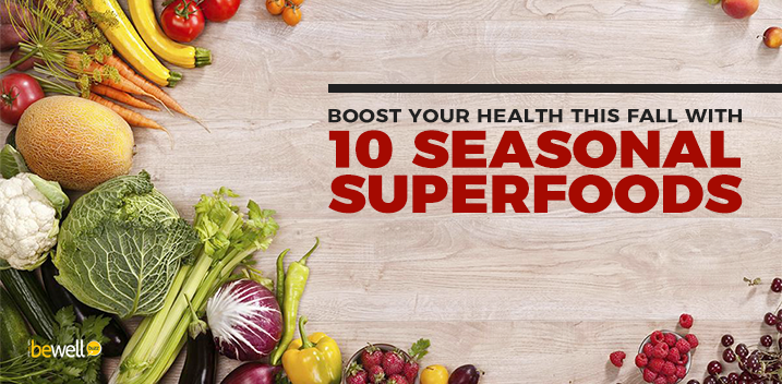 Boost Your Health This Fall With 10 Seasonal Superfoods