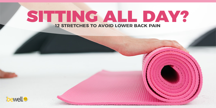 how to help lower back pain from sitting
