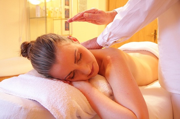 Get fluids moving with specialized lymph massage.
