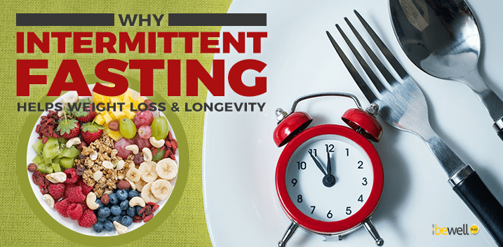 Why Intermittent Fasting Helps Weight Loss & Longevity