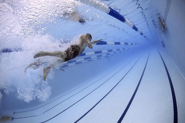 Swimming is an excellent cardiovascular workout.