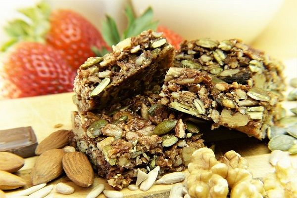 Healthy Chia Seed Recipe: Sunflower and Chia Seed Bars
