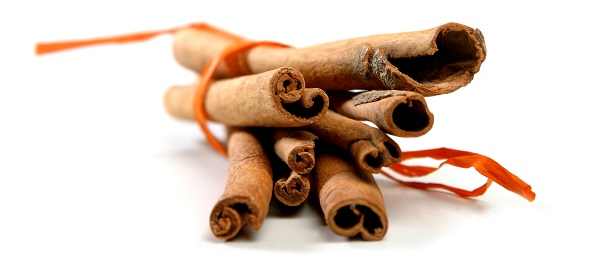 Cinnamon is delicious sprinkled on coffee.