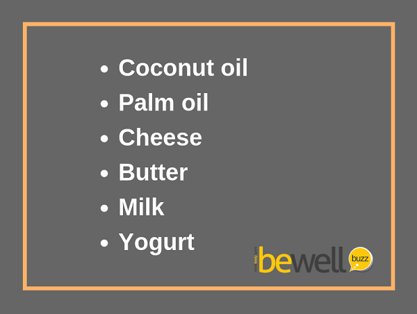 MCT is found in these naturally occurring foods.