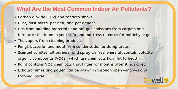 Most Common Indoor Air Pollutants